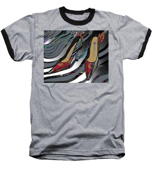 Shoes By Joan - Dragon Fly Wing Pumps Baseball T-Shirt