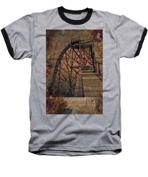 Shoot The Chute Baseball T-Shirt