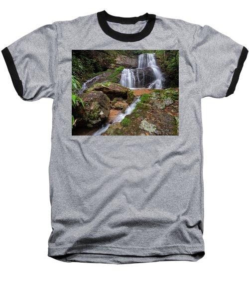 Shu Nu Waterfall 8x10 Horizontal Baseball T-Shirt