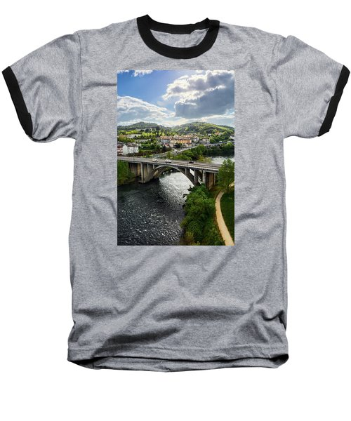 Sights From The Millennium Bridge Baseball T-Shirt