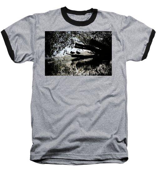 Silhouette Ducks #h9 Baseball T-Shirt
