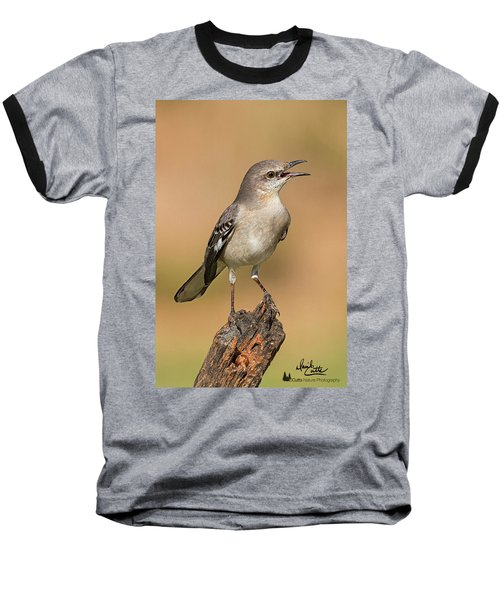 Singing Mockingbird Baseball T-Shirt