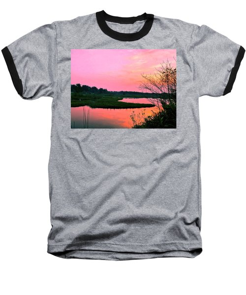 Sitka Sedge Sunset Baseball T-Shirt