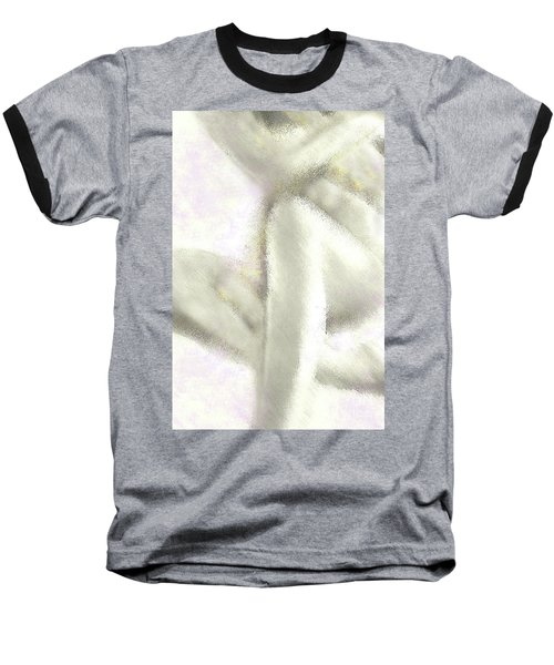 Sitting Nude Baseball T-Shirt