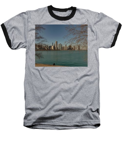Sitting On A Summer Day Baseball T-Shirt