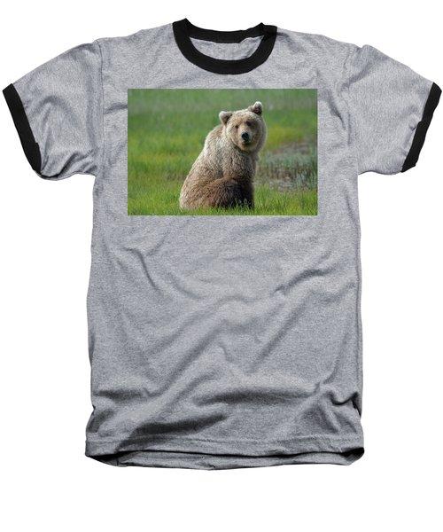 Sitting Peacefully Baseball T-Shirt