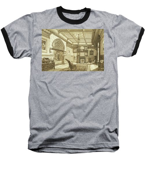Sitting Room Of Bardwold, Merion Pa Baseball T-Shirt