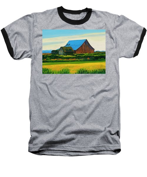 Skagit Valley Barn #4 Baseball T-Shirt
