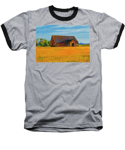 Skagit Valley Barn #9 Baseball T-Shirt