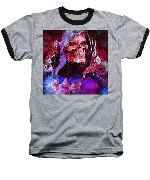 Skeletor Baseball T-Shirt