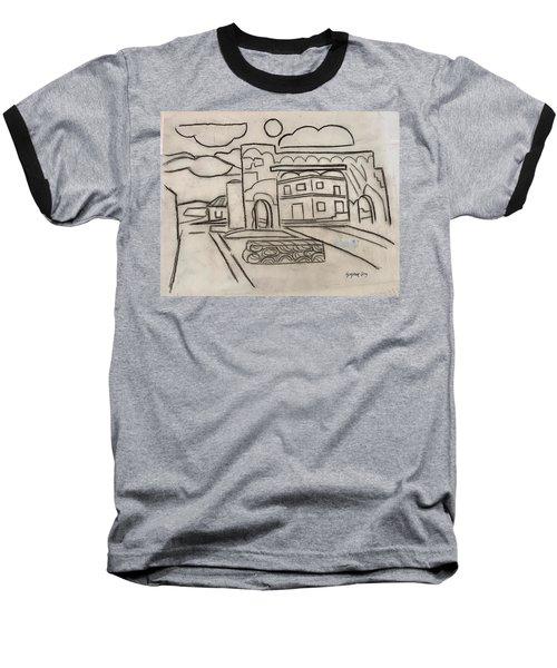 Sketch Of Arch Laguna Del Sol Baseball T-Shirt