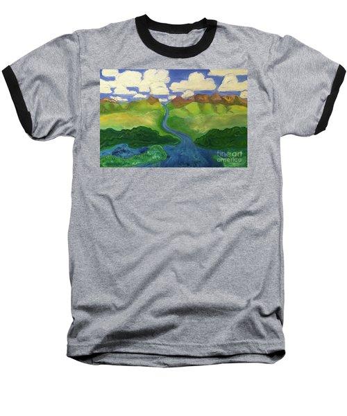 Sky River To Sea Baseball T-Shirt