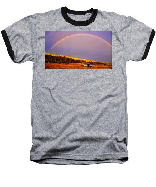 Skylane Rainbow Baseball T-Shirt