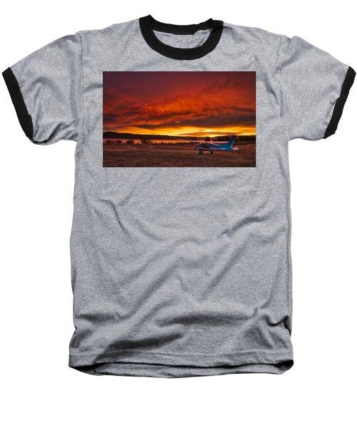Skylane Sunrise Baseball T-Shirt