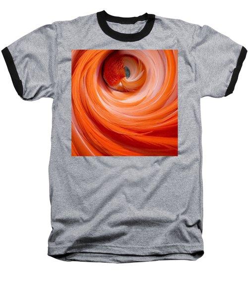 Sleeping Flamingo Baseball T-Shirt
