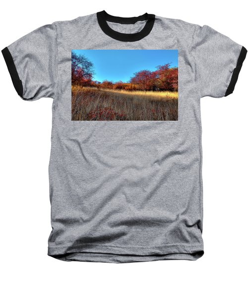 Baseball T-Shirt featuring the photograph Sliver Of Sunlight by David Patterson