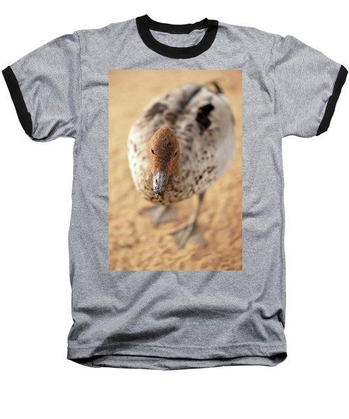 Small Duck On The Farm Baseball T-Shirt