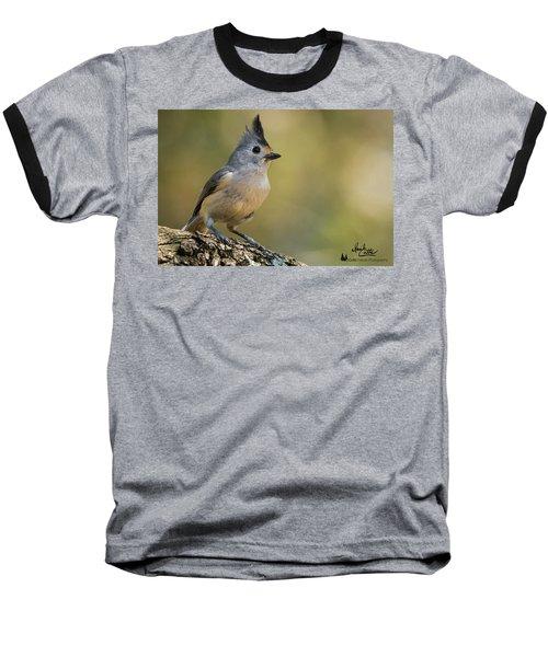Small Titmouse Baseball T-Shirt