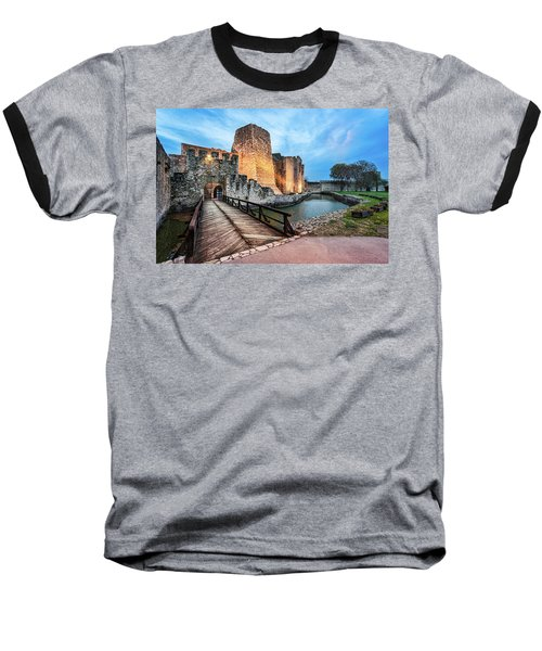 Smederevo Fortress Gate And Bridge Baseball T-Shirt
