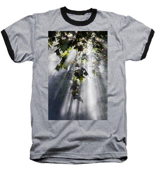 Smoke Gets In Your Skies Baseball T-Shirt