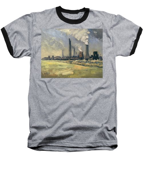 Smoke Stacks Prins Maurits Mine Baseball T-Shirt