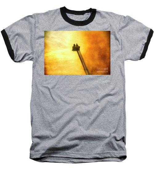 Smokey Blaze Baseball T-Shirt