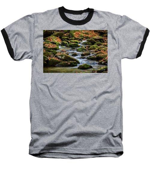 Smokey Mountain Cascades Baseball T-Shirt