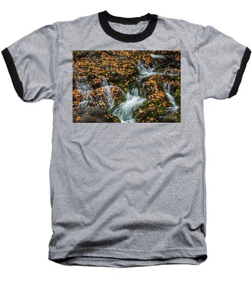 Smokey Mountain Falls Baseball T-Shirt