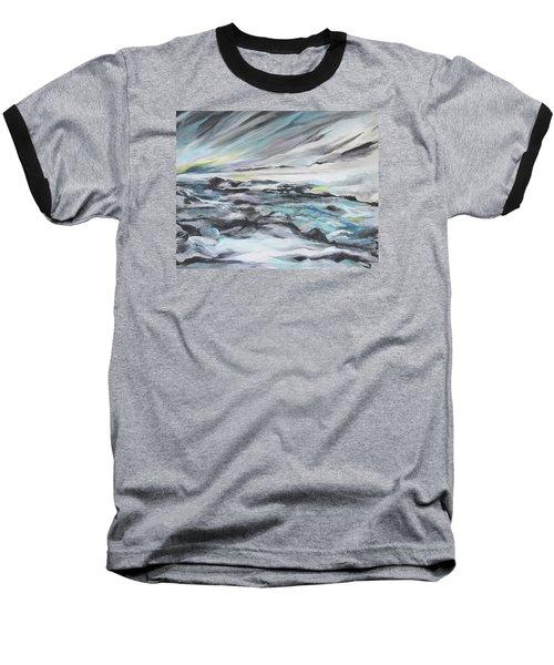 Snow Flow Baseball T-Shirt