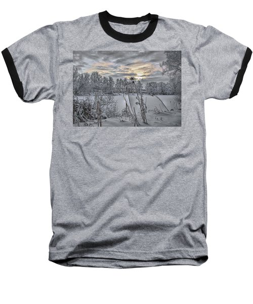 Snow #i3 Baseball T-Shirt