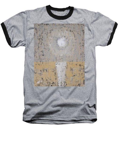Snow Moon Original Painting Baseball T-Shirt