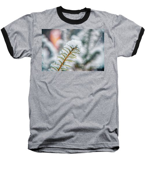 Snow Needle Baseball T-Shirt