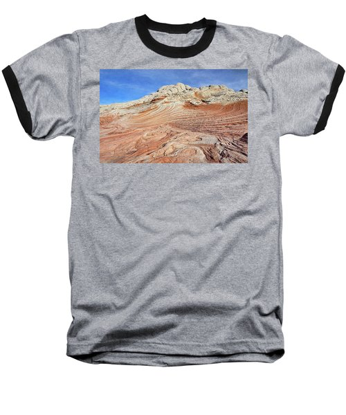 Solid Waves Pano Baseball T-Shirt