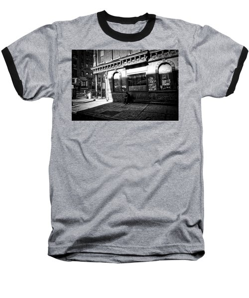 Solitary Man Baseball T-Shirt