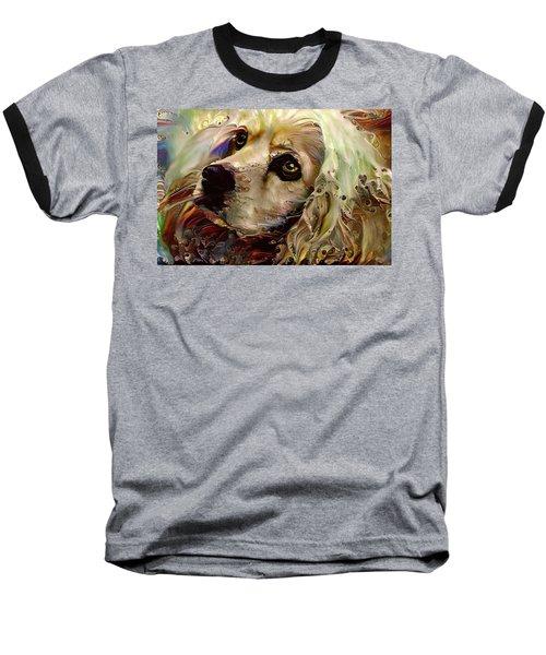 Soulful Cocker Spaniel Baseball T-Shirt
