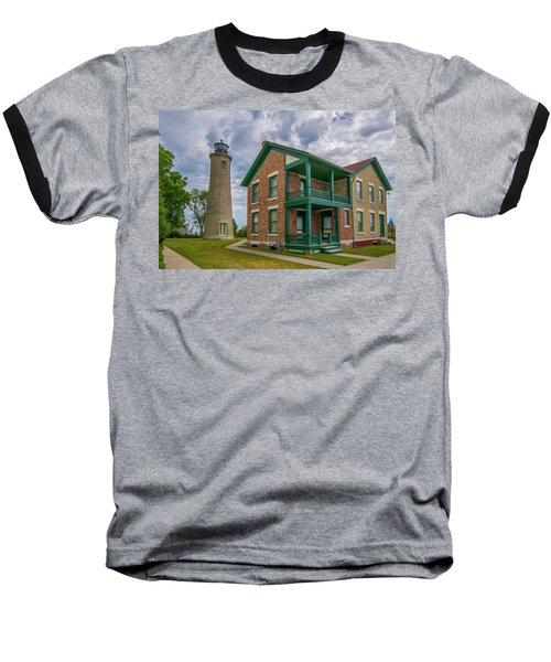 Southport Lighthouse  Baseball T-Shirt