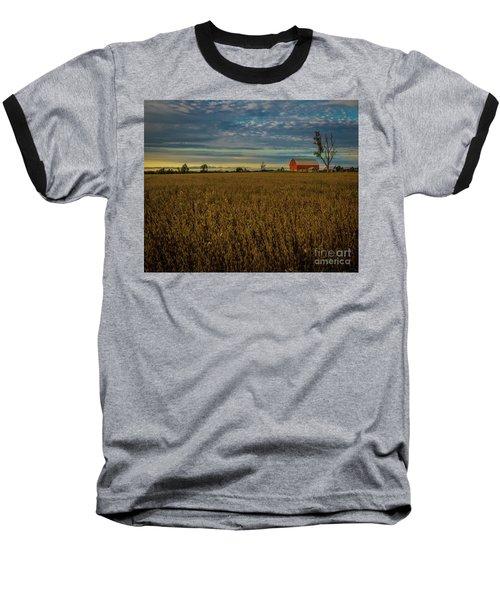 Soybean Sunset Baseball T-Shirt