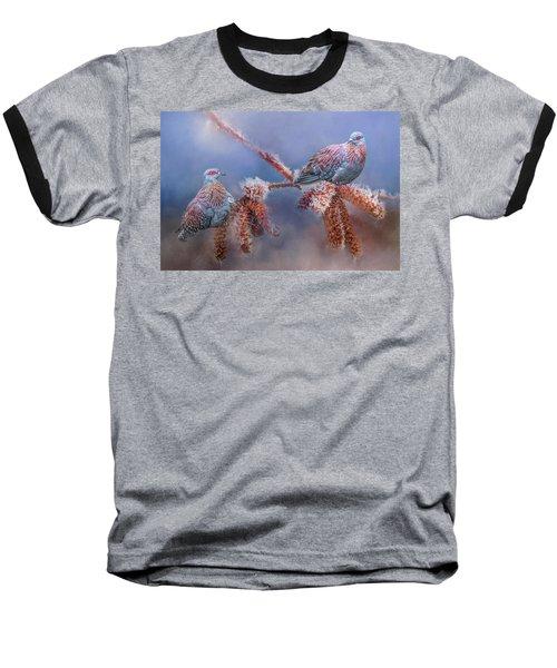 Speckled Pigeons Baseball T-Shirt