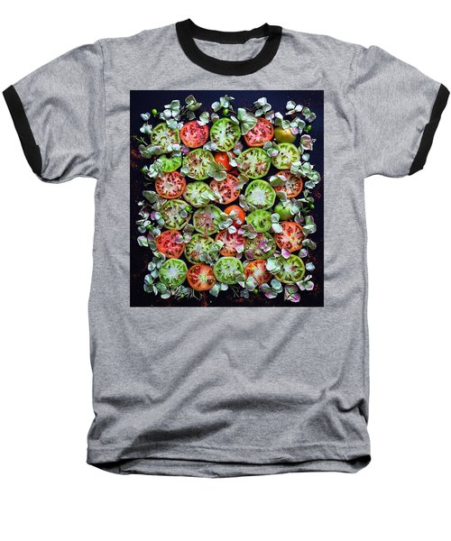 Spiced Tomatoes Baseball T-Shirt