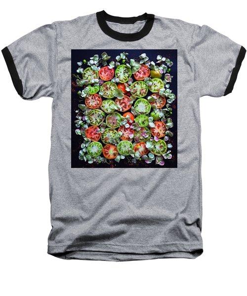 Spiced Tomatoes Baseball T-Shirt