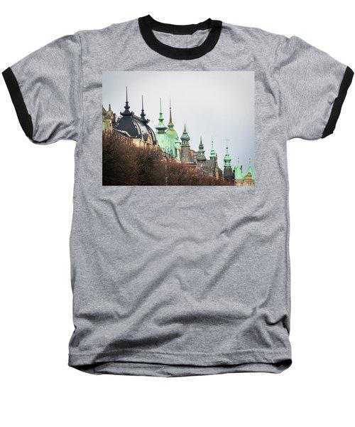 Spires Of Stockholm Baseball T-Shirt