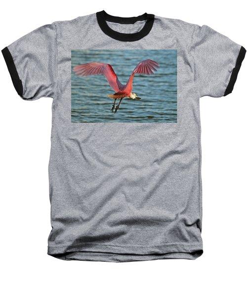 Spoonbill Maestro  Baseball T-Shirt
