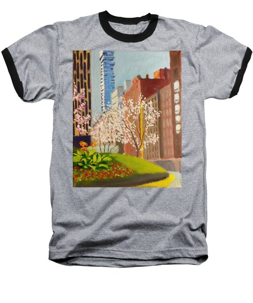 Spring In Worth St Baseball T-Shirt