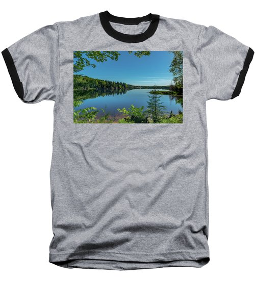 Spring Morning On Grand Sable Lake Baseball T-Shirt