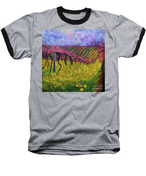 Spring Vineyard Baseball T-Shirt