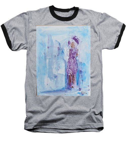 Spunky Angel Baseball T-Shirt