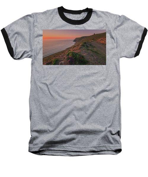 St Agnes Sunset Baseball T-Shirt