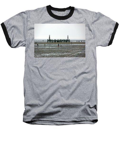 St. Annes. On The Beach. Baseball T-Shirt