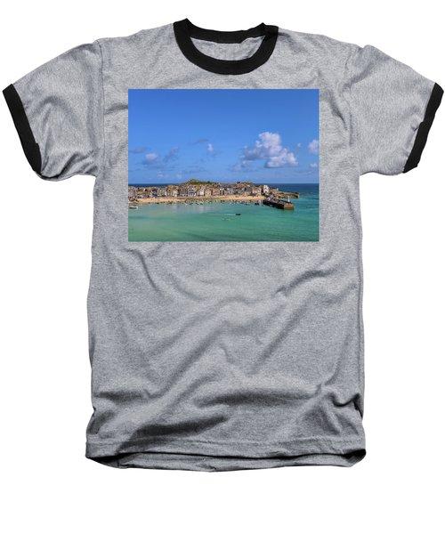 St Ives Cornwall - General View Baseball T-Shirt