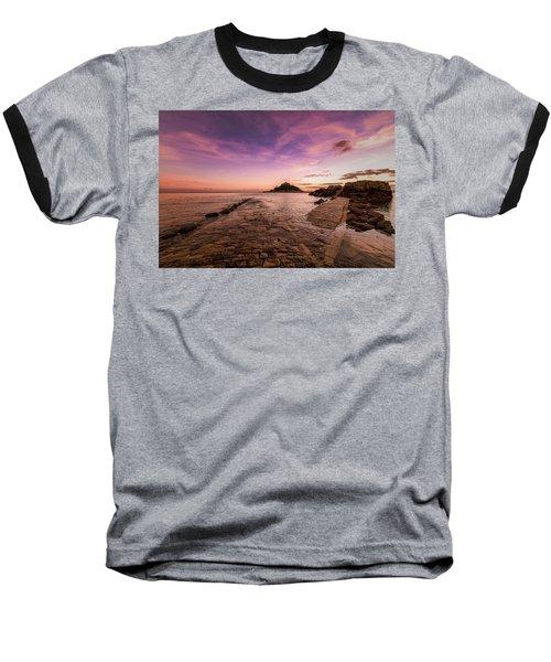 St Michael's Mount - January Baseball T-Shirt